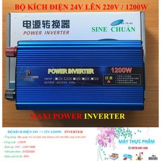 Bộ Kích Điện Inverter 24 – 220V – 1200W – SIN CHUẨN
