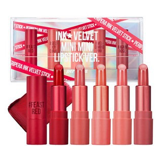 Set 5 Thỏi Son Lì Peripera Ink Velvet Mini Mini Lipstick [Mini size] thumbnail