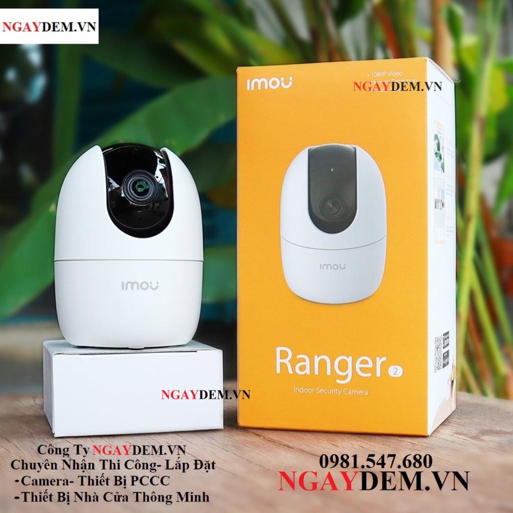 Camera Wifi Ngoài Trời IMOU A22EP 2MP/ Full HD 1080P-Camera Giám Sát Gia Đình Dahua Xoay 360 - NGAYDEM.VN