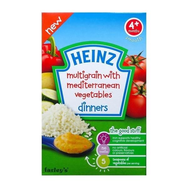 Bột Heinz mặn - Ngũ cốc và rau củ T052
