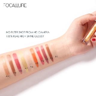Hình ảnh FOCALLURE PLUMPMAX High Shine & Shimmer Lip Gloss 10 màu 3g 1pc-5