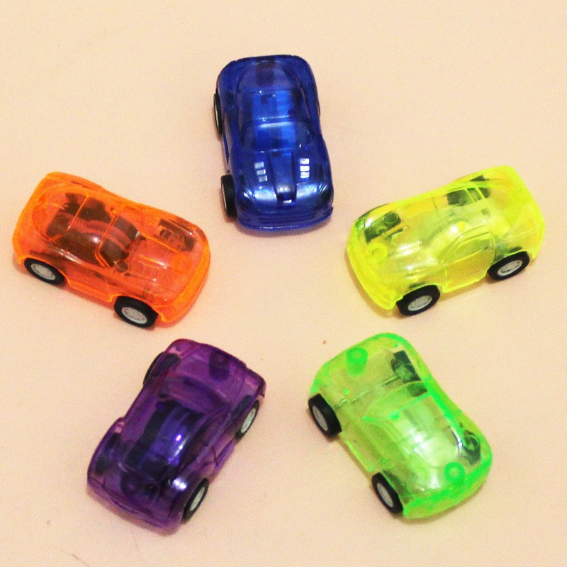 【Mua một tặng một】Bộ đồ chơi xe hơi mini màu sắc ngẫu nhiên