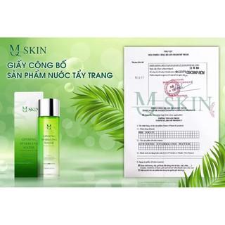 Nước tẩy trang MQ Skin chính hãng