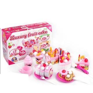 Đồ chơi cắt bánh sinh nhật Luxury Fruit FDE801