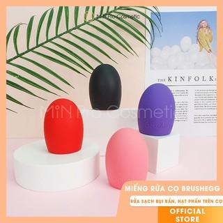 Miếng rửa cọ trang điểm Brushegg hình quả trứng thumbnail