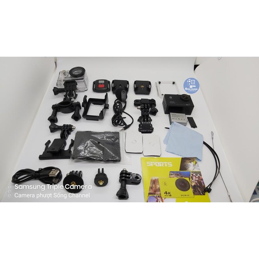 [Mã 159ELSALE hoàn 7% đơn 300K] Camera SC-M100 (Hỗ Trợ Gắn và Tặng Mic Rời)