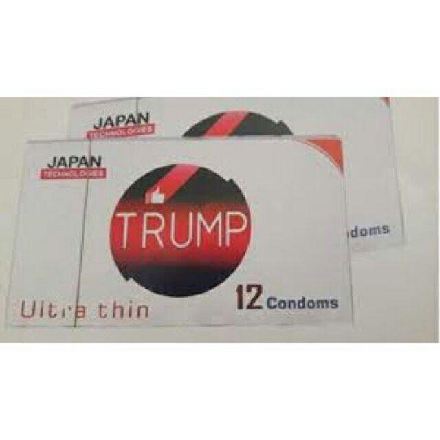 Bao cao su Trump công nghệ Nhật Bản (Hộp 12 cái)