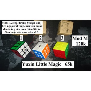 Rubik 3x3x3. Yuxin Little Magic thường/M