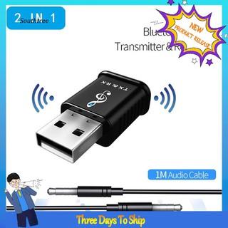 Bộ Thu Phát Bluetooth 5.0 2 Trong 1 Cho Pc Laptop