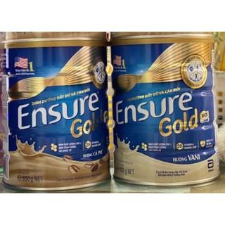 Sữa bột Ensure Hương Vani, Cà Phê 850g