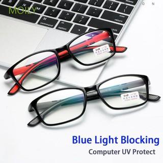MOILY Readers Glasses Unisex Computer UV Protect Ultra Light Antifatigue Reading Glasses6 4 thumbnail