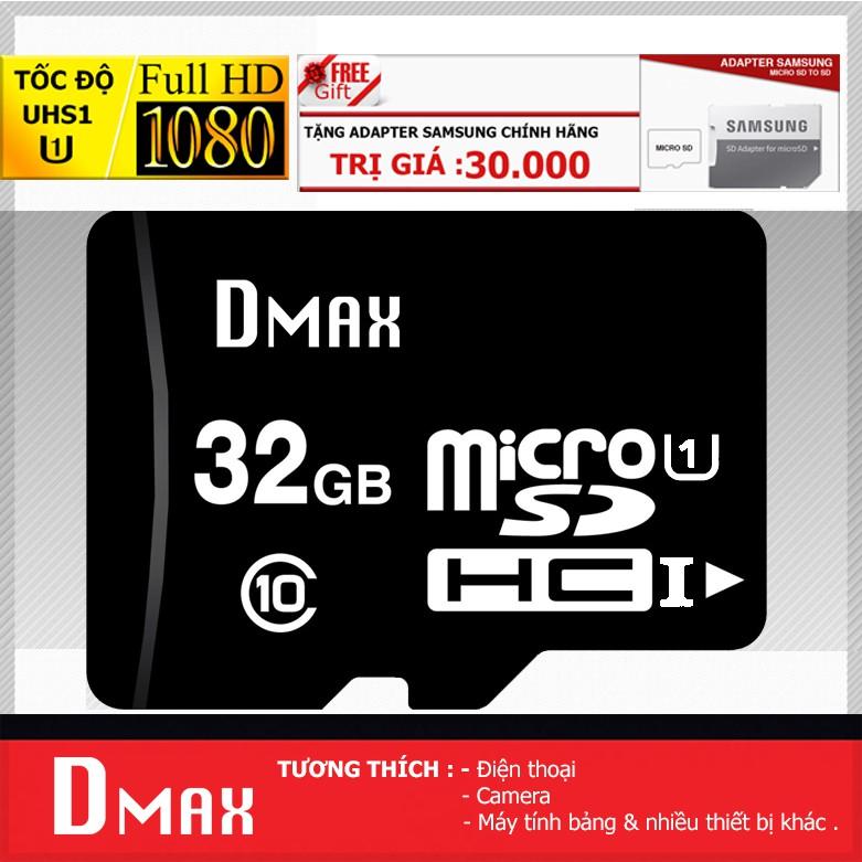 Thẻ nhớ 32GB Dmax micro SDHC Class 10 - Bảo hành 5 năm đổi mới + Tặng Adapter Samsung - 2728974 , 1341230478 , 322_1341230478 , 199000 , The-nho-32GB-Dmax-micro-SDHC-Class-10-Bao-hanh-5-nam-doi-moi-Tang-Adapter-Samsung-322_1341230478 , shopee.vn , Thẻ nhớ 32GB Dmax micro SDHC Class 10 - Bảo hành 5 năm đổi mới + Tặng Adapter Samsung