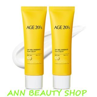 Kem Chống Nắng AGE20's UV Veil Essence Sun Cream SPF50*/ PA++++ 50ml