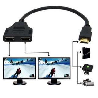 Đầu Chia ra Hai HDMI dài 30CM Phiên Bản 1.4 3D 1080P