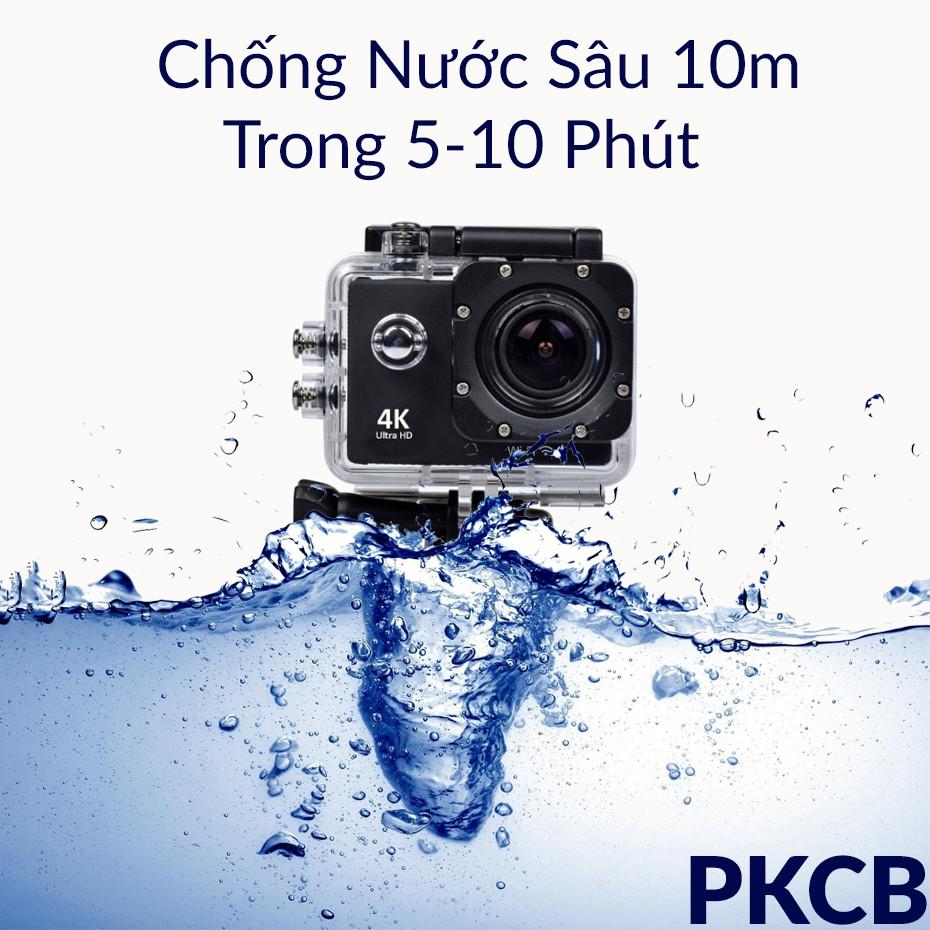 Camera hành trình, hành động Sport Cam camera giám sát camera thể thao hành động Wifi 4K ULTRA HD Chống rung chống nước