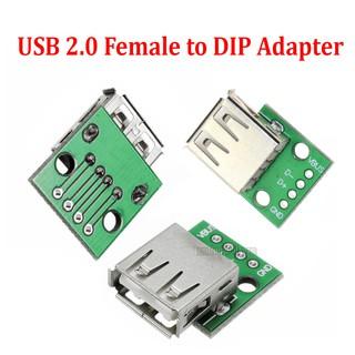 Mạch chuyển USB to 4pin DIP - USB 2.0 3.0 to 4 pin DIP