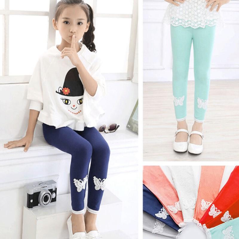 TR❤Quần legging thời trang cho bé gái
