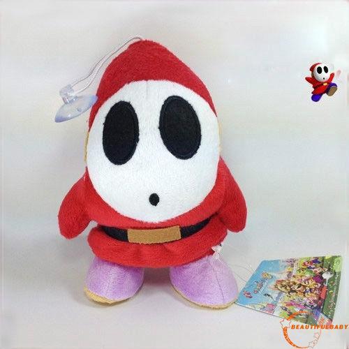 BღBღSuper Mario Bros Plush Shy Guy Soft Toy Nintendo Stuffed Animal