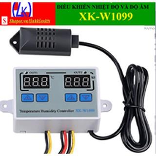 Bộ điều khiển nhiệt độ kỹ thuật số Bộ điều chỉnh độ ẩm / độ ẩm XK-W1099 AC220V/ 10A(kèm 3 cos nối tiện dụng)
