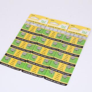 Pin cúc áo 10 viên LR44 AG13 LR41 AG3 CR2032 hàng chuẩn pin tốt bền loại 1