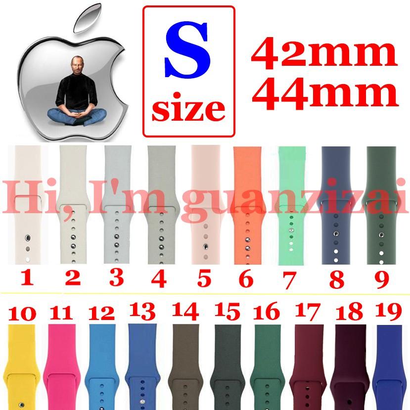Dây đeo silicone kiểu dáng thể thao cho đồng hồ thông minh Apple Watch 1 / 2 / 3 / 4 42mm / 44mm