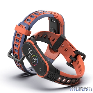 Dây đeo silicon thể thao PULSEIRA Mi band 4, mi band 3 chính hãng Mijobs - dây đeo thay thế miband 4,3 thể thao (Mijobs) thumbnail