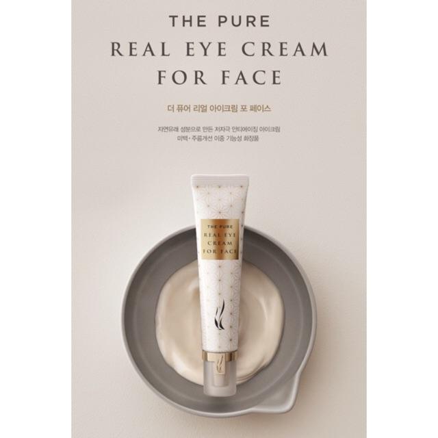Kem Chống Nhăn & Trị Thâm Quầng Mắt AHC Private Real Eye Cream For FacE