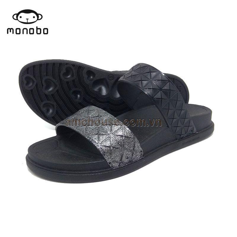 Dép nhựa Thái Lan quai ngang nữ KELLY 7 hiệu MONOBO - đen quai bạc - 3334192 , 1059838043 , 322_1059838043 , 240000 , Dep-nhua-Thai-Lan-quai-ngang-nu-KELLY-7-hieu-MONOBO-den-quai-bac-322_1059838043 , shopee.vn , Dép nhựa Thái Lan quai ngang nữ KELLY 7 hiệu MONOBO - đen quai bạc