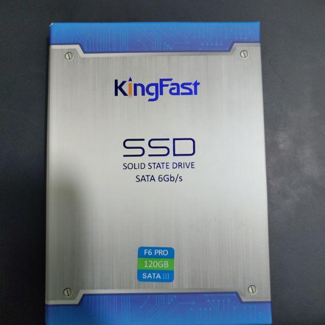 Ổ cứng ssd Kingfastf6 pro 120gb sata3 6gb/s 2.5″ ( read 550MB/s Write 450MB/s) Giá chỉ 400.000₫