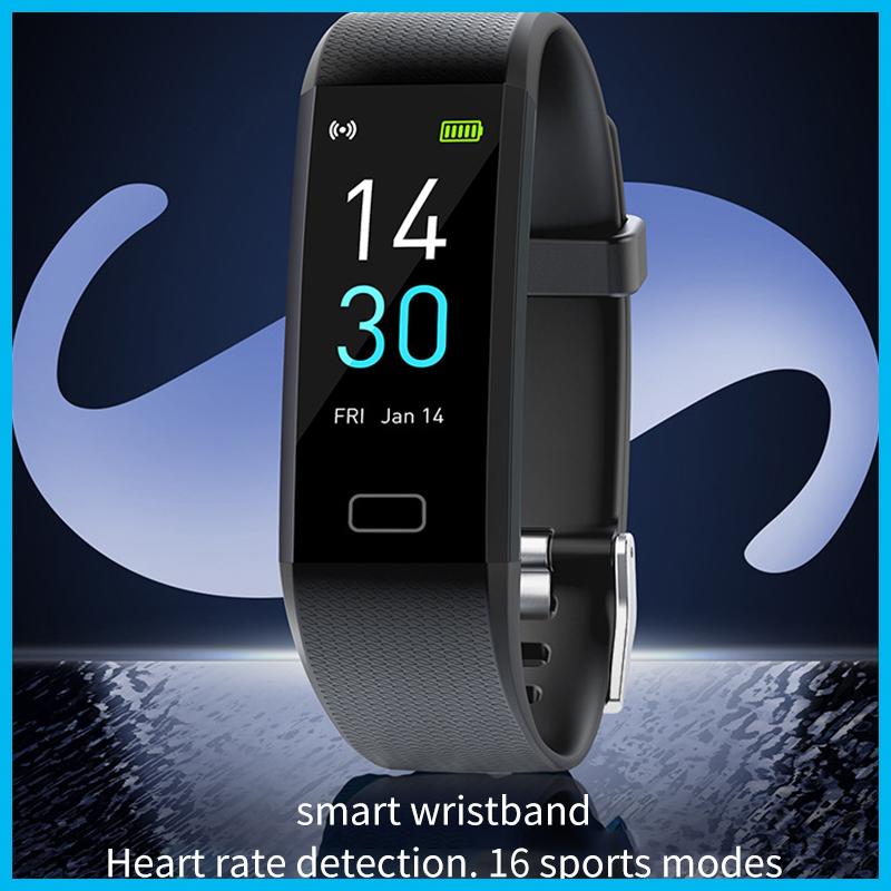 Đồng Hồ Thông Minh Thể Thao Chống Nước Ip68 Theo Dõi Sức Khỏe Kết Nối Bluetooth 5.0