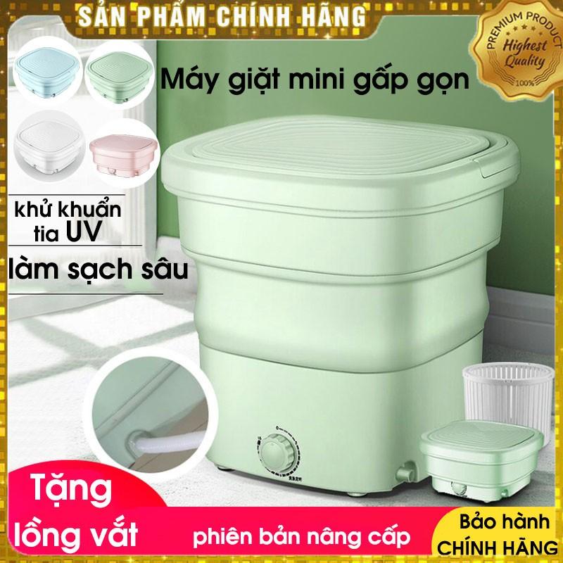 Máy giặt mini Yangzi gấp gọn thông minh chính hãng, vắt khô và khử trùng bằng công nghệ Blue Ag