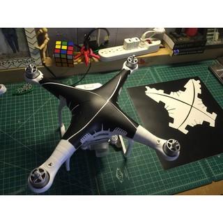 Phantom 3 decal dán bảo vệ chống trầy và làm đẹp cho máy bay flycam