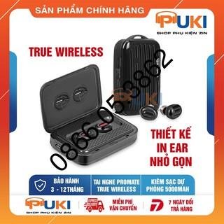 Tai Nghe Promate PowerBeat Bluetooth Không Dây Kiêm Sạc Dự Phòng 5000mAh - Hàng Chính Hãng thumbnail