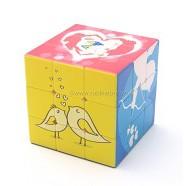 [Rubik biến thể 6 mặt] YuXin Love Cube 3x3x3 with a Ring
