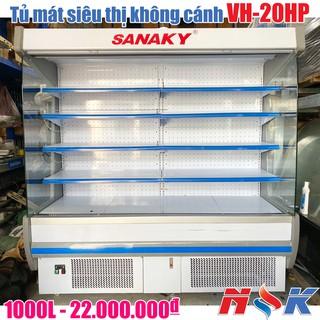 Tủ mát siêu thị không cánh Sanaky VH-20HP 1000 lít