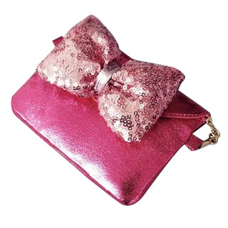 Fashion Cute Bow Children Shoulder Messenger Leather Bags