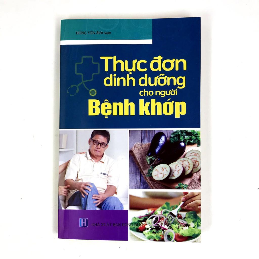Sách - Thực Đơn Dinh Dưỡng Cho Người Bệnh Khớp (Trí Thức Việt)
