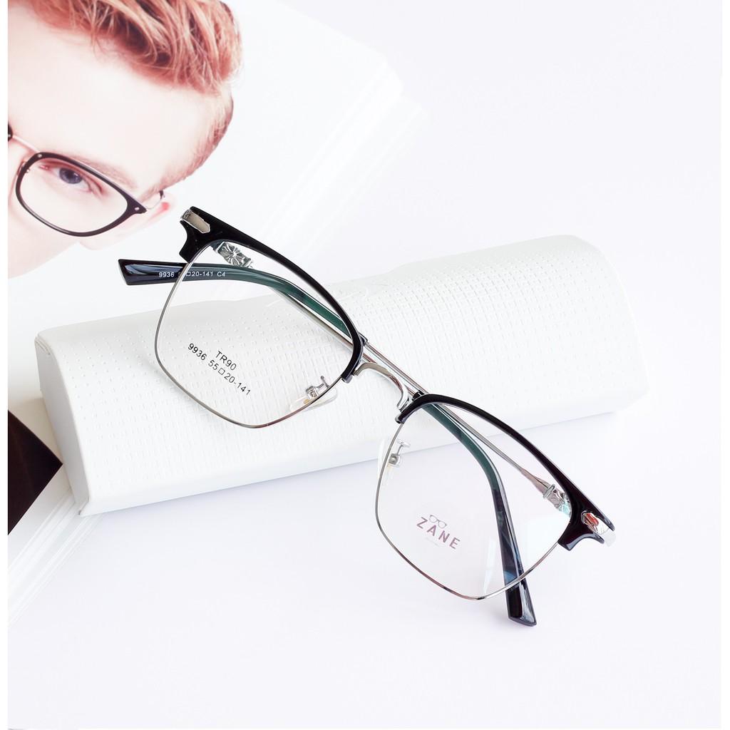 [LẮP SẴN CẬN] – Gọng kính cận nam, Mắt kính nam đổi màu, chống ánh sáng xanh , kính cận...