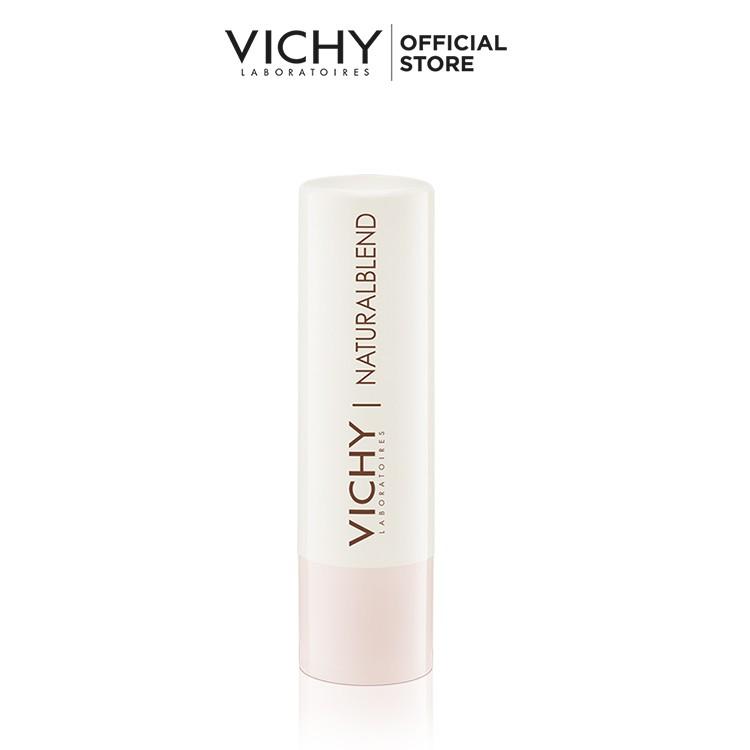 [Mã FMCGMALL giảm 8% đơn 250K] Son dưỡng ẩm không màu Naturallblend Hydrating Lip Balm Vichy 4.5g