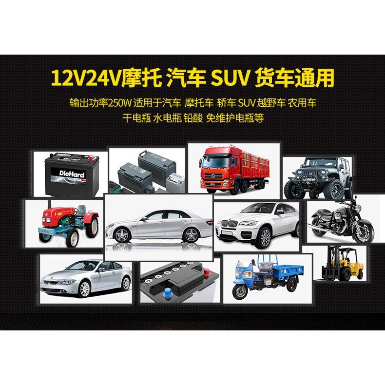 SẠC ACQUY TỰ ĐỘNG cho xe máy đến oto 12v và 24v 6ah tới 200ah Nội địa