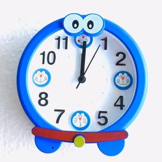 Đồng hồ báo thức để bàn Doremon 3164 (xanh dương)