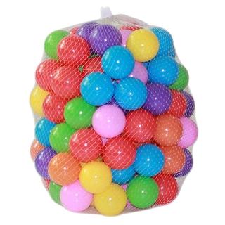 Bubble Shop61 5.5cm/7cm Soft Secure Plastic PE Ocean Ball Tent Baby Pit Swim Pool Toy