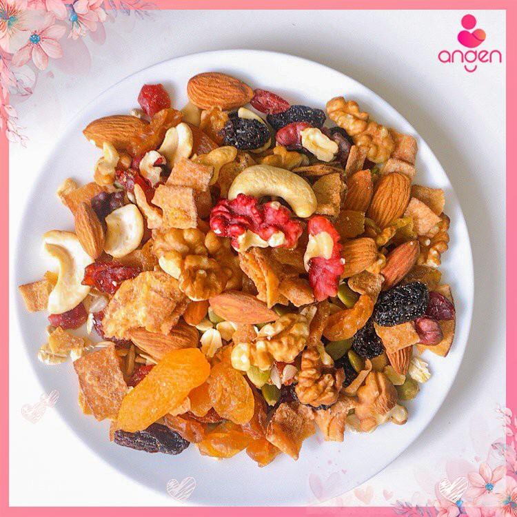 Hộp ngũ Cốc Granola Healthy Siêu Hạt (500gr) - EAT CLEAN / ĂN KIÊNG, GIẢM CÂN / ĂN VẶT MẸ BẦU