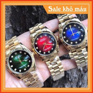 [Free Sip] [Siêu Phẩm] Đồng Nam Rolex156 dây đặc nguyên khối, mạ không rỉ, dây full vàng thumbnail