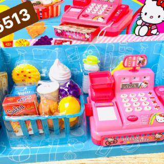 Hộp đồ chơi xe kem, điện thoại cho bé
