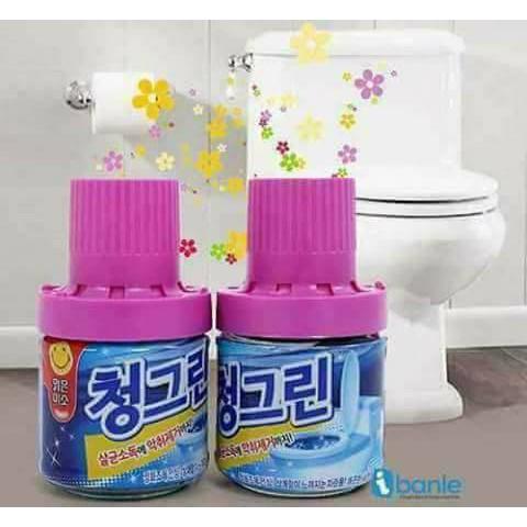 Lọ thả bồn cầu khử mùi cao cấp Hàn Quốc