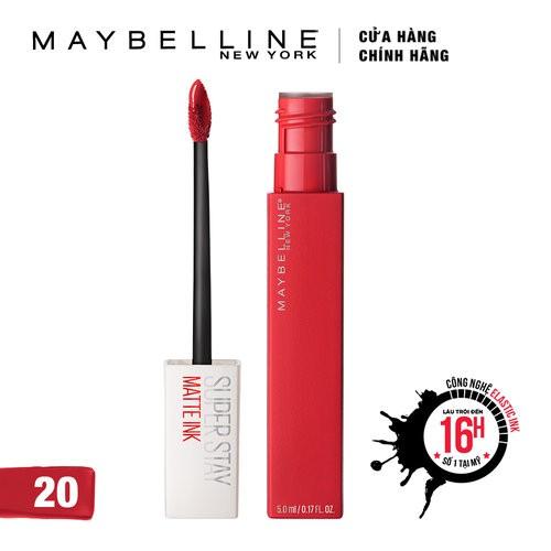 Son Kem Lì Maybelline Super Stay Matte Ink 5ml