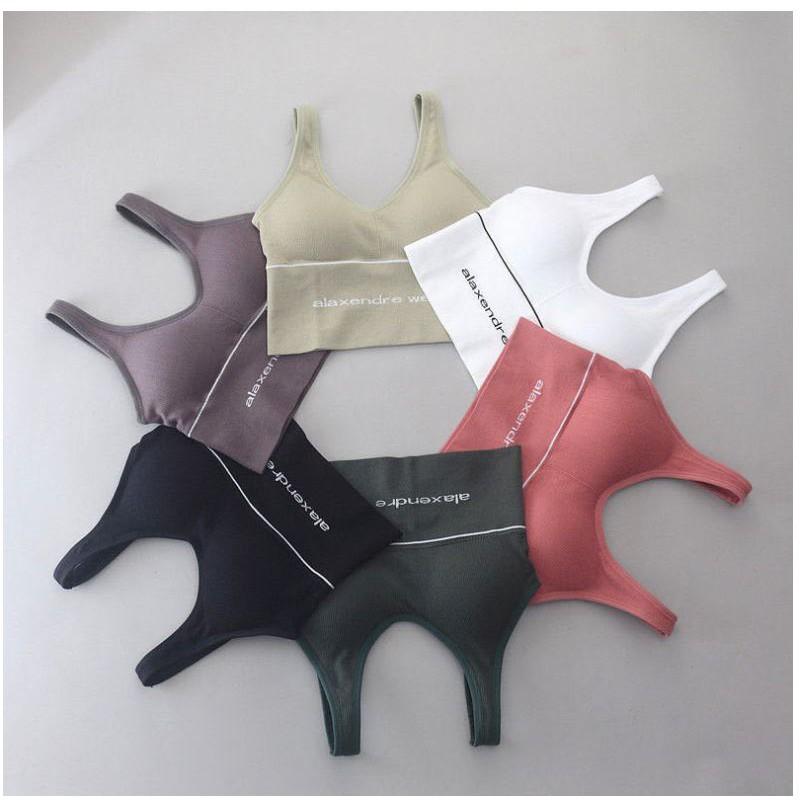 Áo bra áo tập 6 màu phong cách Hàn Quốc (A13)