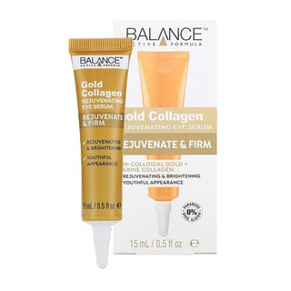 Kem mắt Balance Active Formula Gold Collagen Rejuvenating Eye Serum 15ml thumbnail