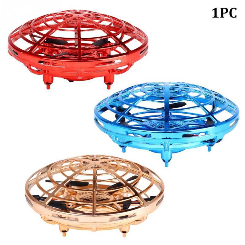 Đồ chơi UFO cho bé 3 tuổi trở lên, đĩa bay UFO 4 cánh , phát triển trí tuệ, cảm biến xung quanh UFO tự động bay siêu hot